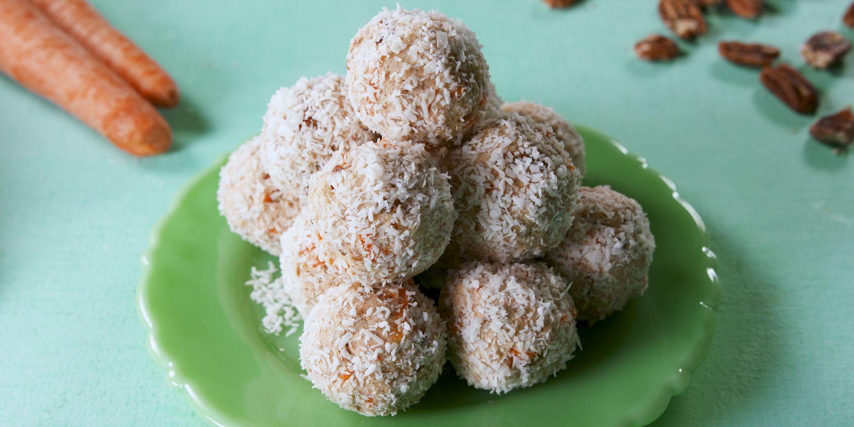 Keto Cake Recipe With Stevia: Best Carrot Cake Keto Balls Recipe