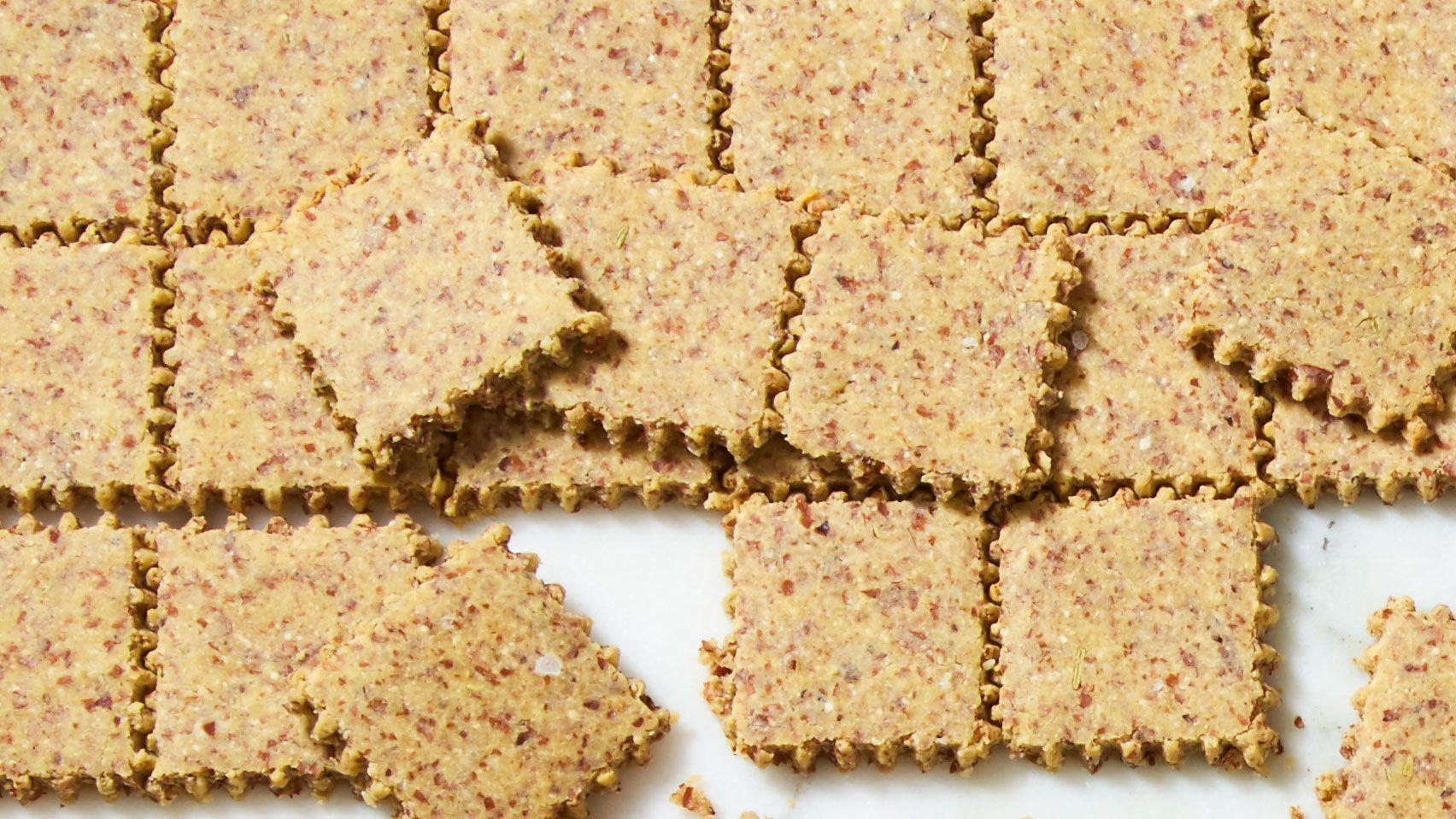 Rosemary Keto Crackers