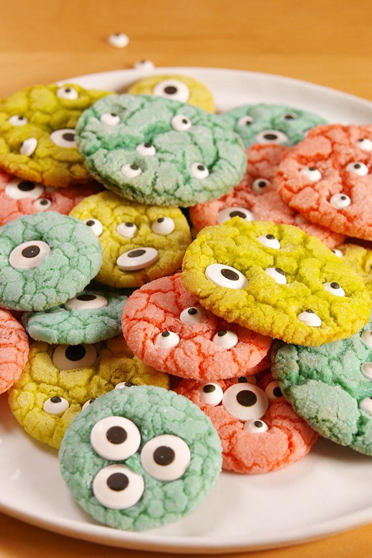 10 Easy Halloween Cookies