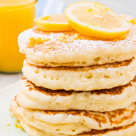 Lemon Ricotta Pancakes - Delish.com