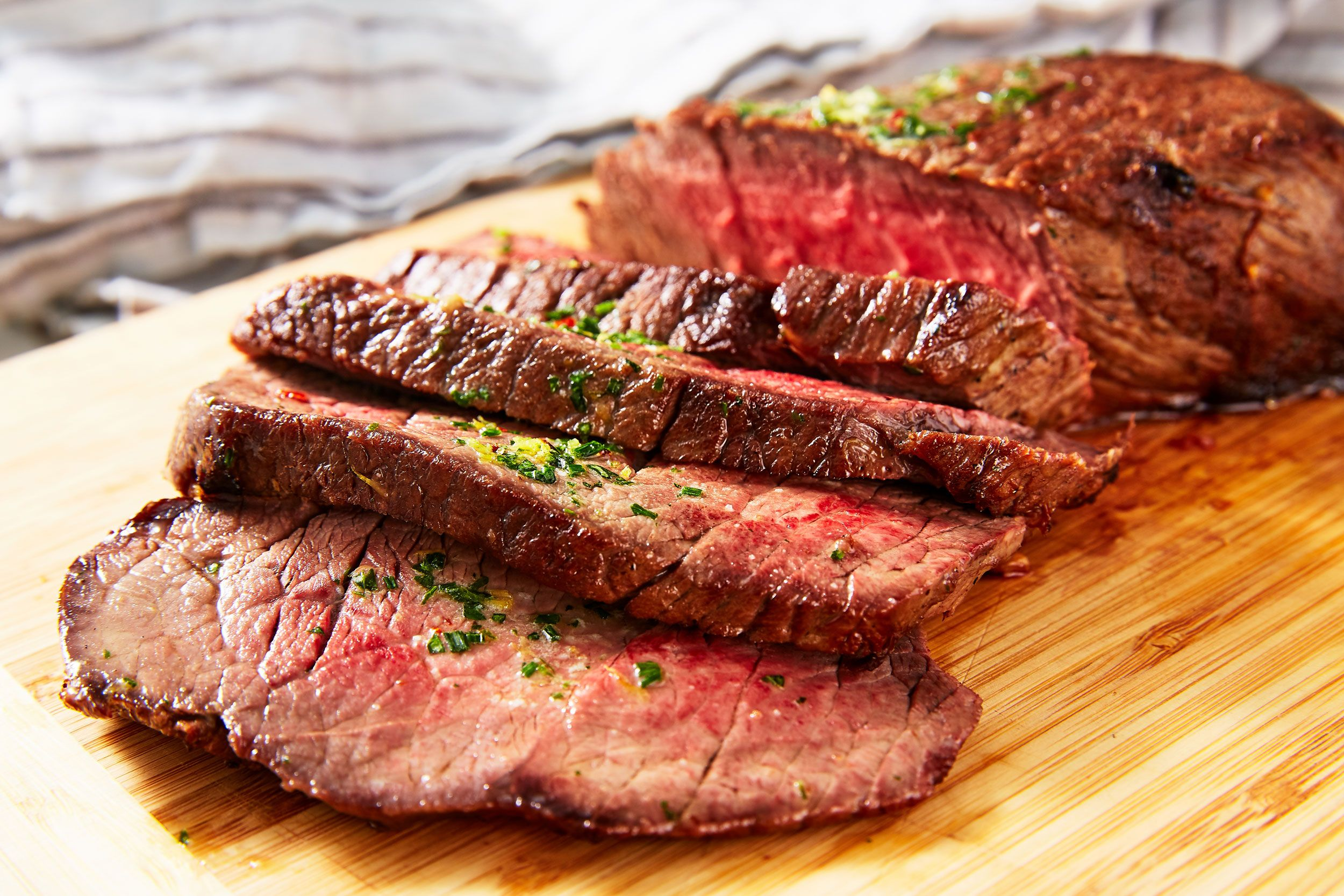 How to cook a top round london broil steak in the oven