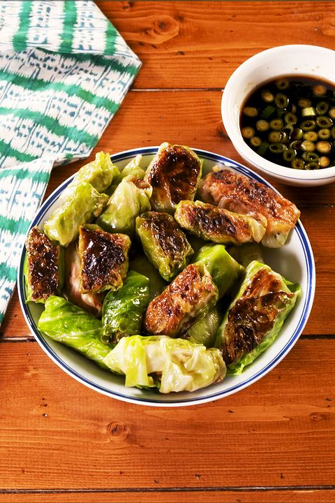 Low-Carb Cabbage Dumplings - Delish.com