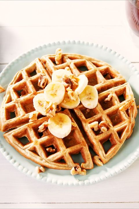 Magic Low-Carb Waffles vertical — Delish.com