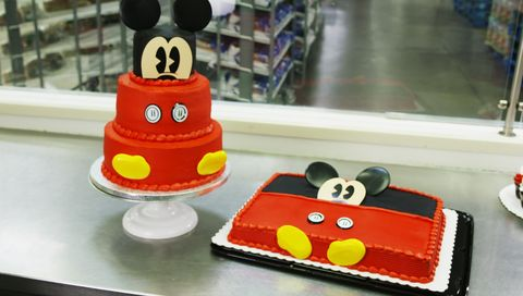 Sams Club Is Selling Several Mickey Mouse Themed Cakes And Cupcakes