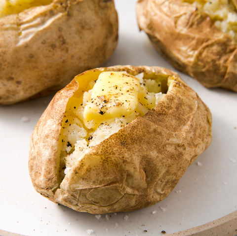 Microwave Baked Potato Delish