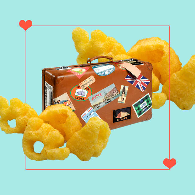 monster munch travel moving abroad comfort food