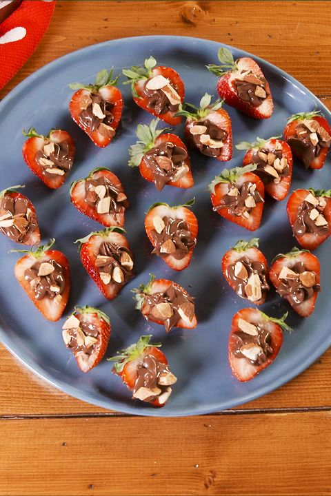 Nutella Stuffed Strawberries - Delish.com