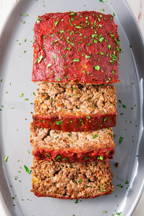 Paleo Meatloaf vertical — Delish.com