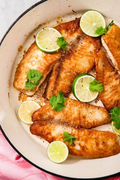 pan fried tilapia   delishcom