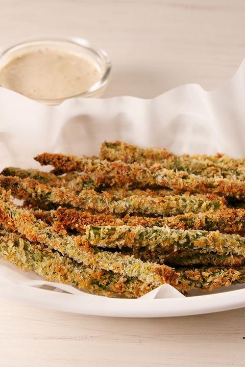 Parmesan Asparagus Fries vertical