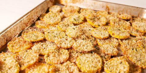 Parmesan Squash Chips Horizontal