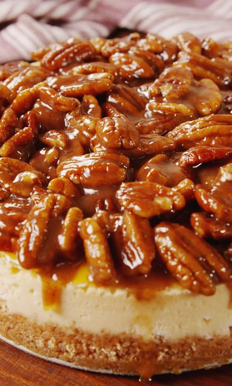 Pecan Pie Cheesecake pin