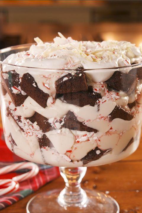 Peppermint Bark Trifle - Delish.com