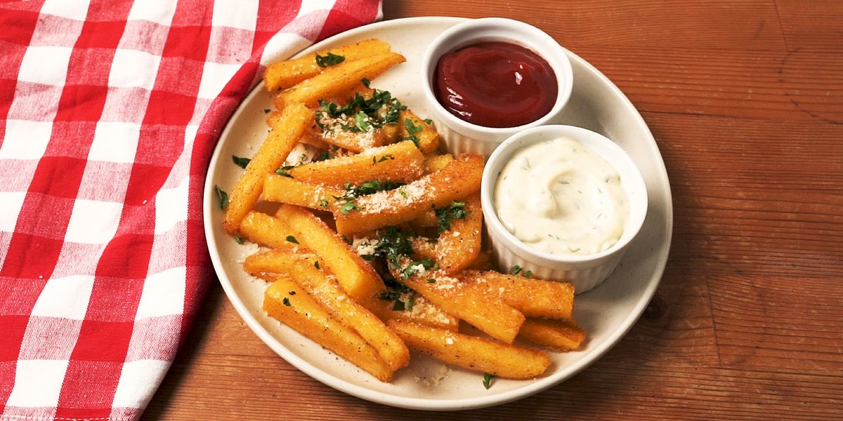 Best Polenta Fries Recipe How To Make Polenta Fries