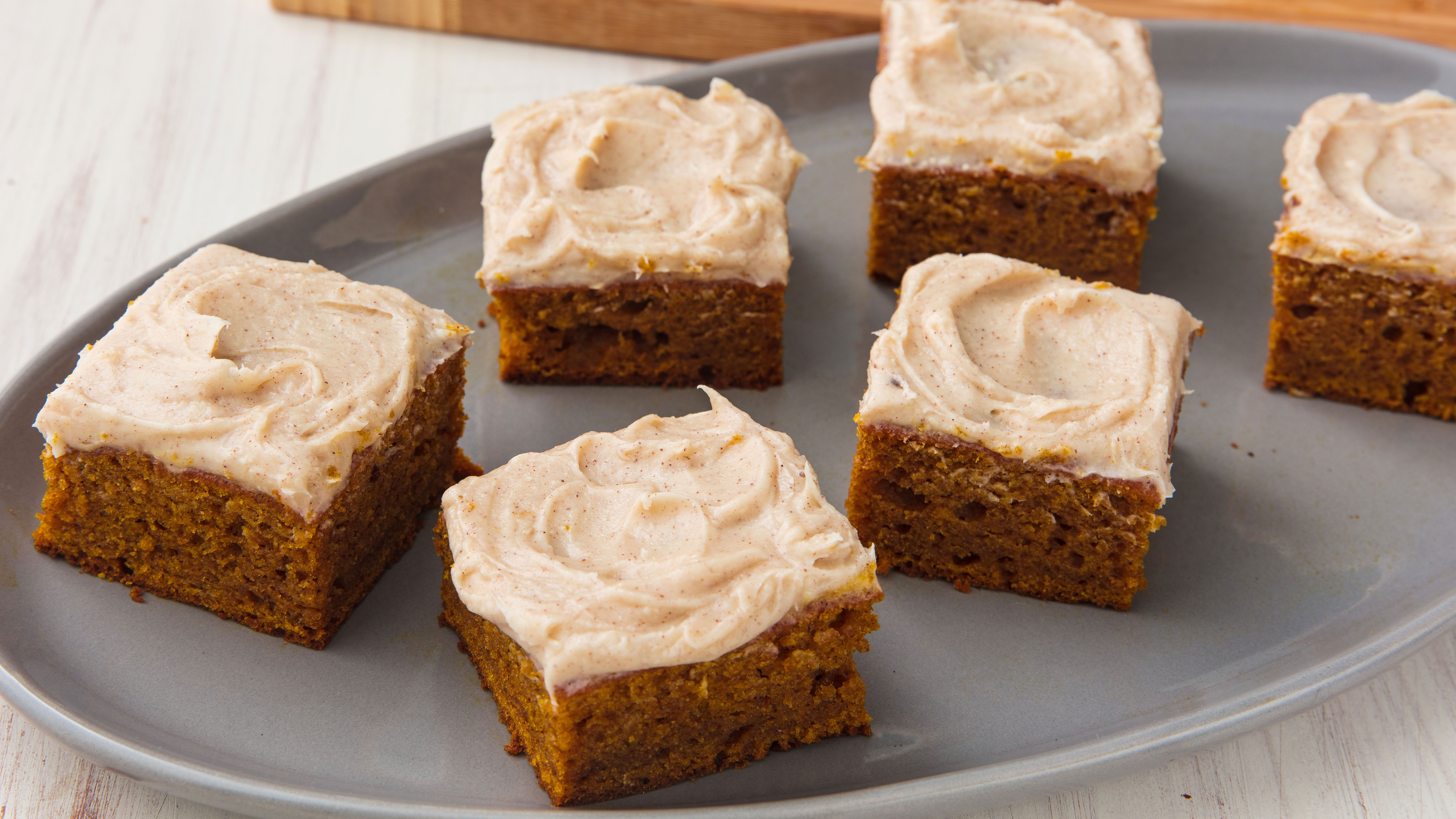 Best Pumpkin Bars With Recipe How To Make Pumpkin Bars With Cream Cheese Frosting