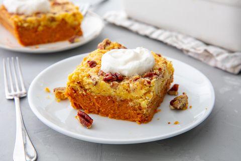 Pumpkin Dump Cake horizontal