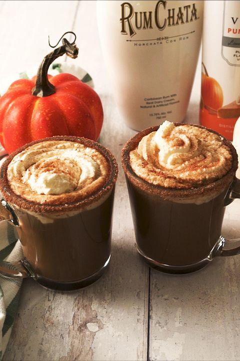 drunken pumpkin latte