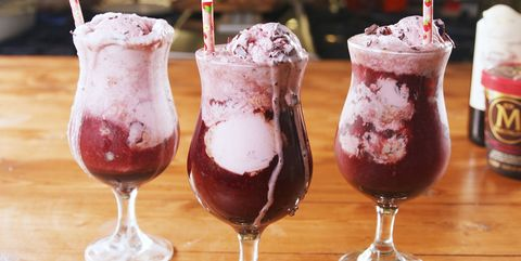 Red Wine Floats — Delish.com