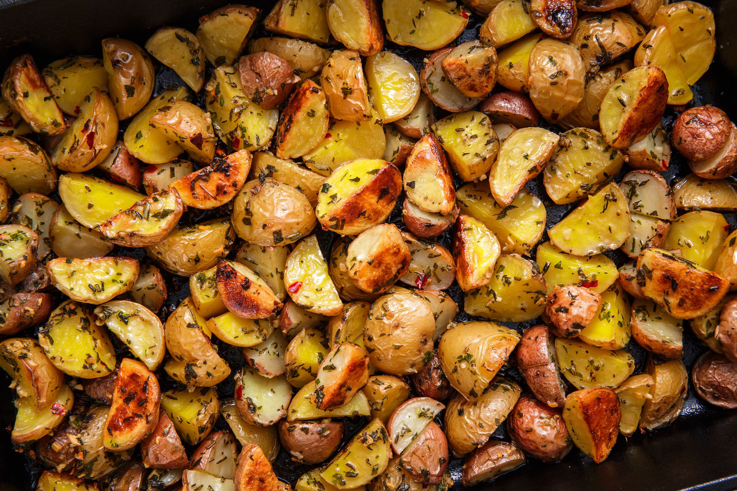 Best Oven Roasted Potatoes Recipe Easy Herb Roasted Potatoes