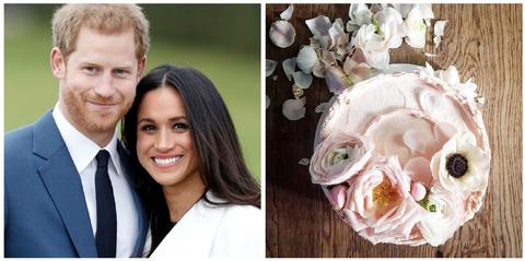 Prince Harry And Meghan Markle Wedding Cake