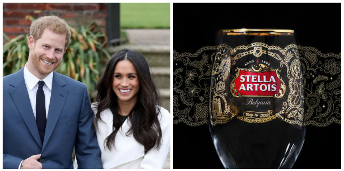 Stella Artois's New Chalice Features 19 Secret Messages For The Royal Couple