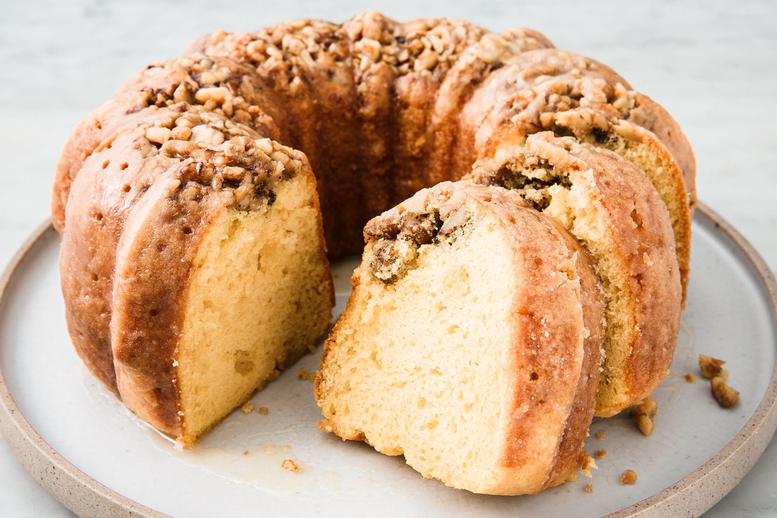 Caribbean Rum Cake Recipe King Arthur Flour: Rum Cake Recipe Vanilla Pudding