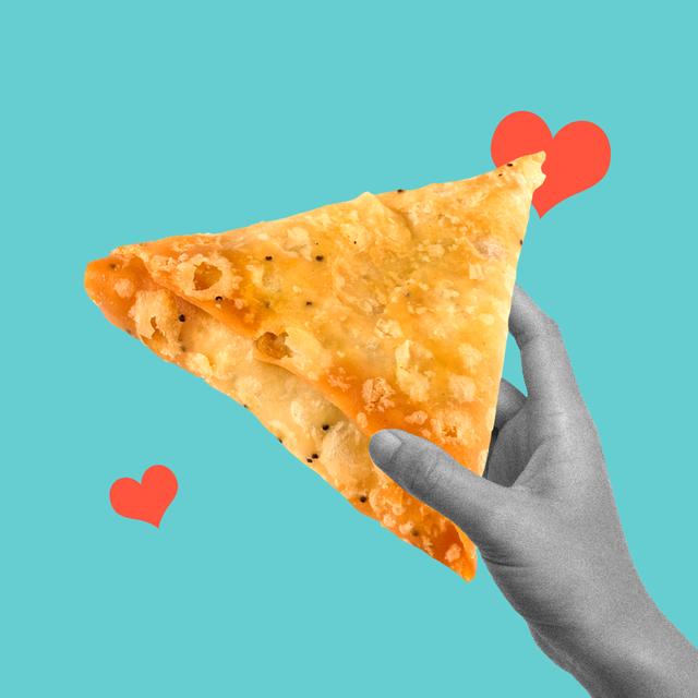 samosa love feeding food love language