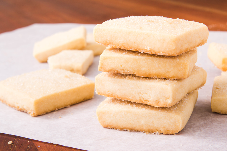 Classic and Flavored Shortbread Cookies