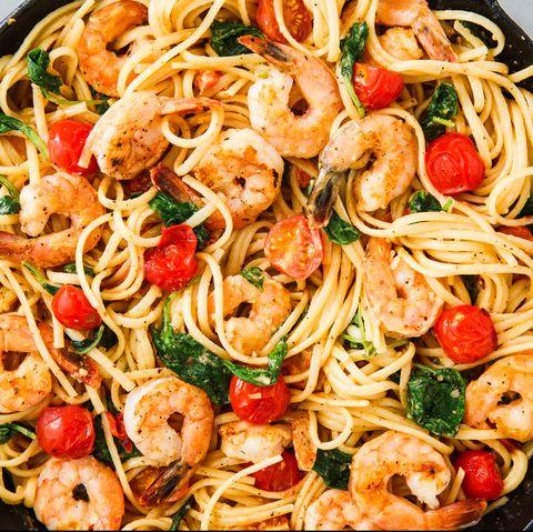 Shrimp Linguine horizontal