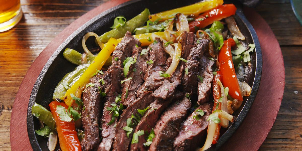 Best Sizzling Steak Fajitas Recipe How To Make Sizzling Steak Fajitas