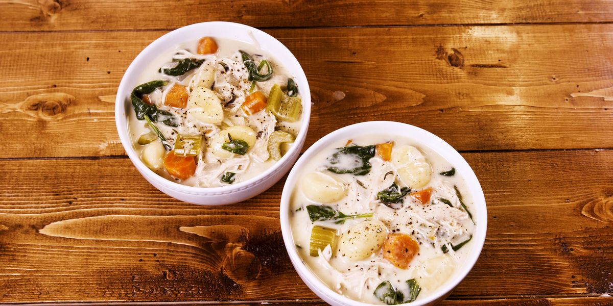 Slow-Cooker Creamy Gnocchi Soup Beats Those Winter Blues