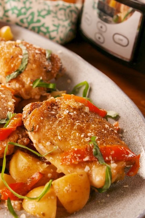 Slow-Cooker Tuscan Chicken - Delish.com