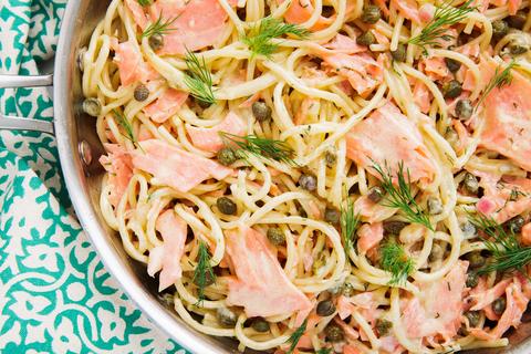 Smoked Salmon Pasta - Delish.com
