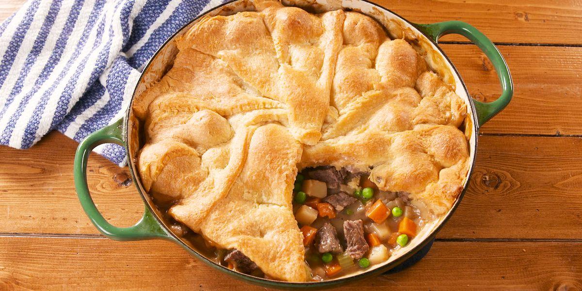 Best Steak Pot Pie Recipe - How to Make Steak Pot Pie