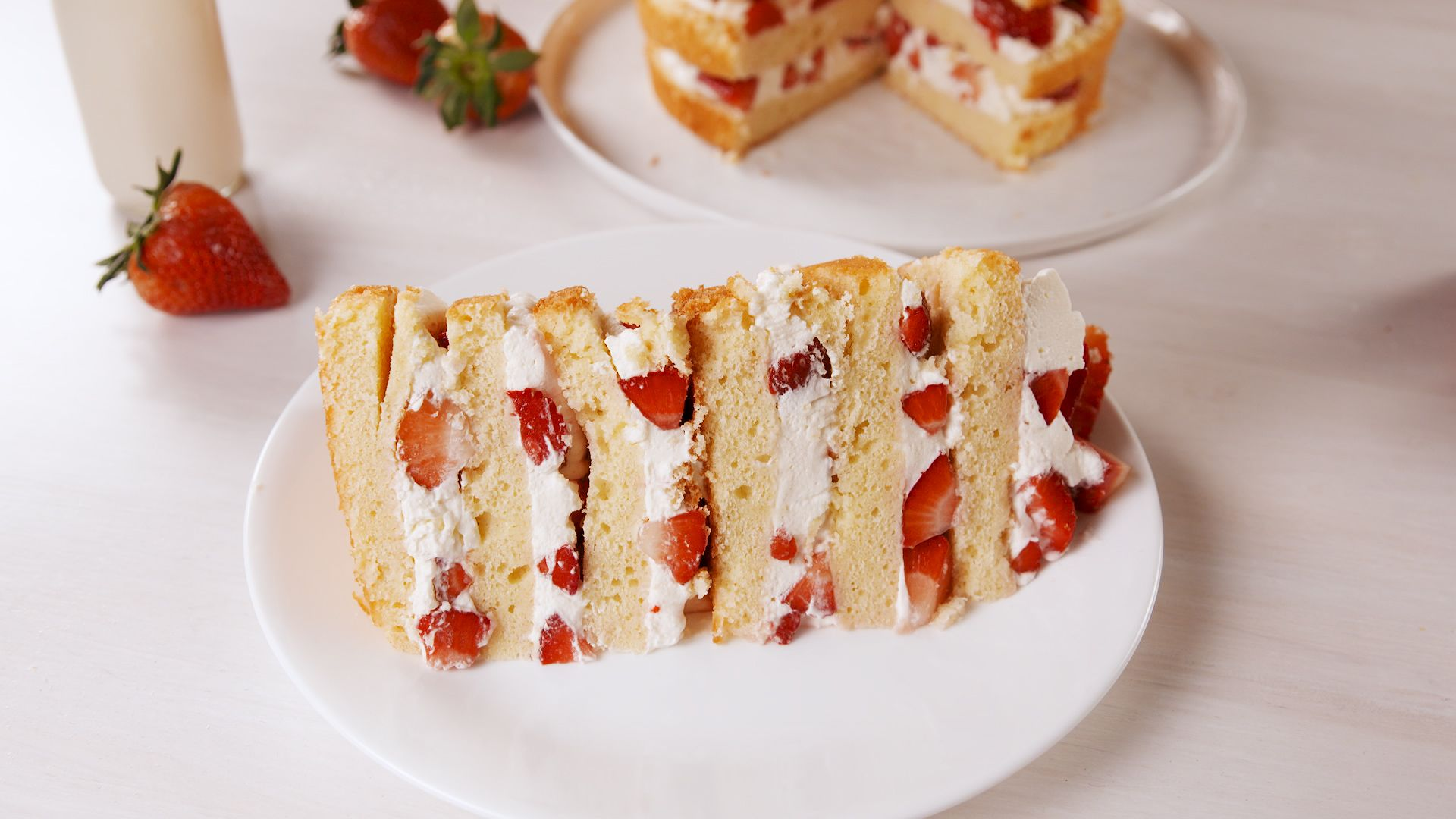 Best Strawberry Shortcake Tower Recipe How To Make Strawberry Shortcake Tower