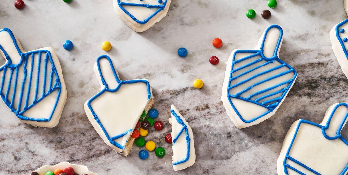 Sugar Cookie Dreidels