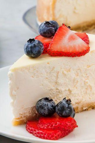 Healthy Sugar-Free Desserts - Keto Cheesecake