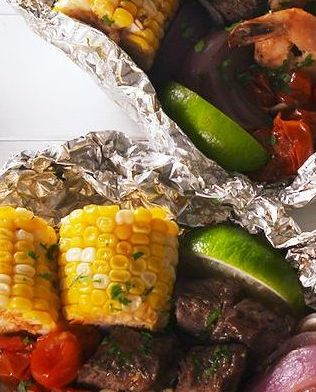 Best Surf N Turf Foil Packs Recipe How To Make Surf N