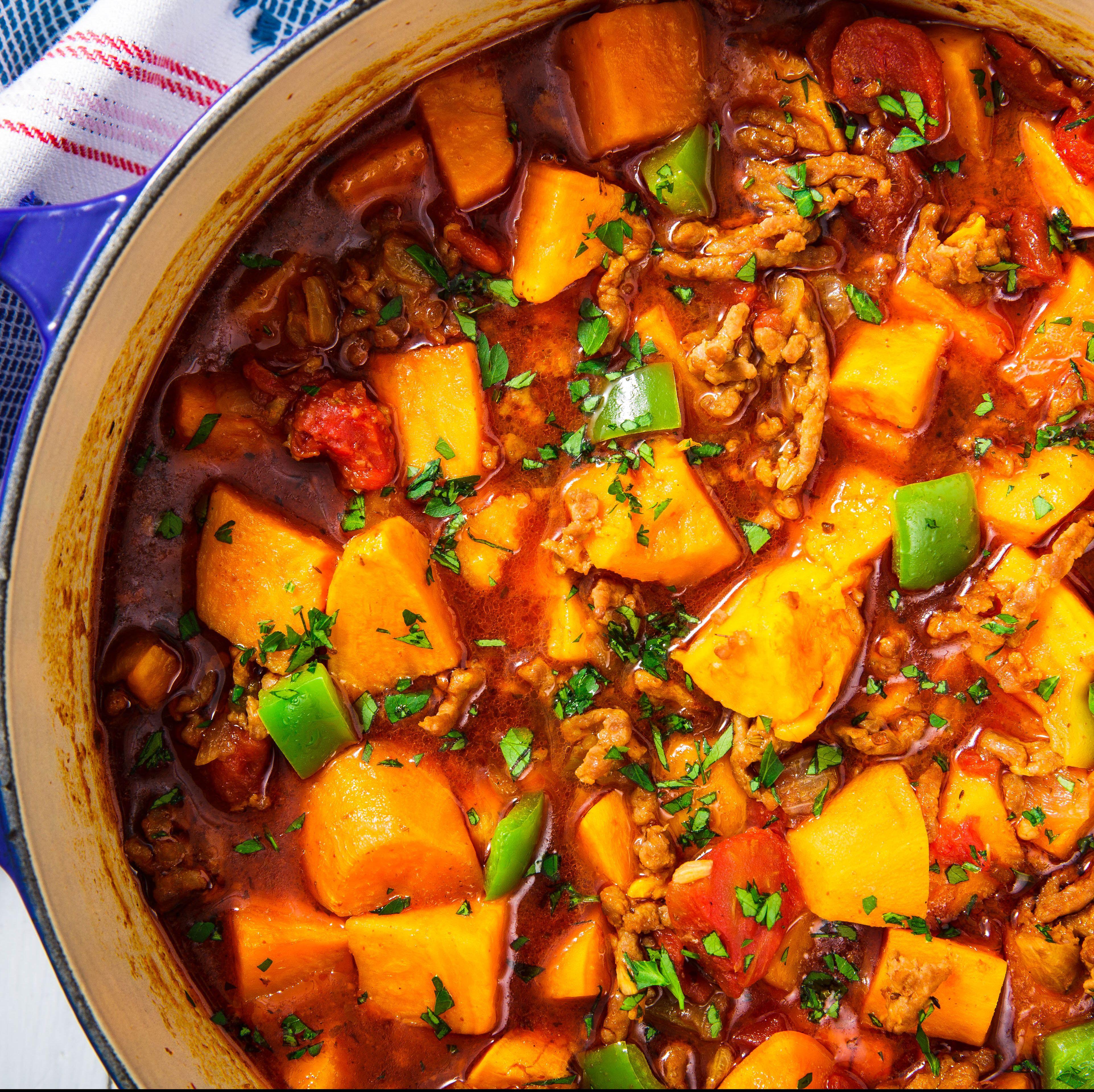 Sweet Potato Chili (Paleo-Friendly!)