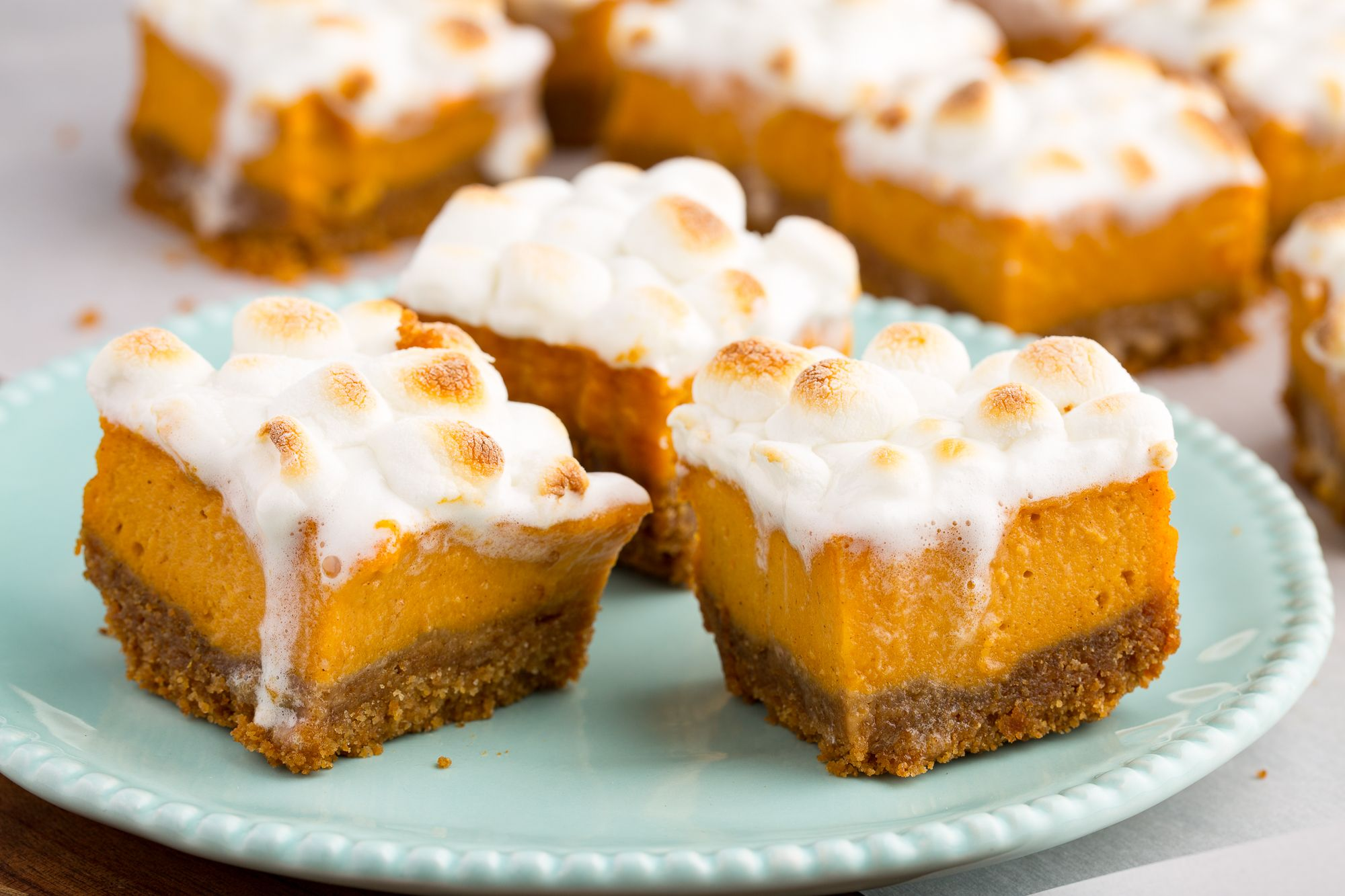 Sweet Potato Marshmallow Bars | Sweet Potato Recipes You'll Crave Before and After Thanksgiving