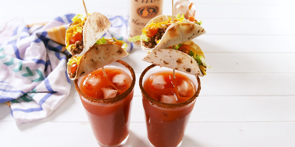 Best Taco Bloody Marys Recipe How To Make Taco Bloody Marys