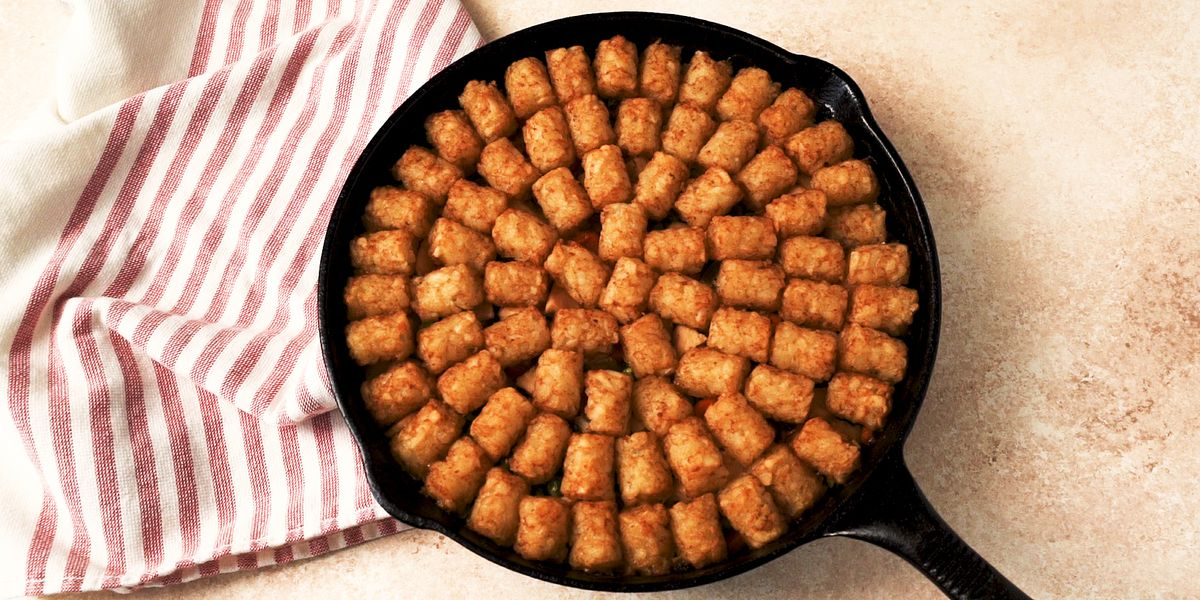 Tater Tot Chicken Pot Pie Is An Amazing Comfort Food
