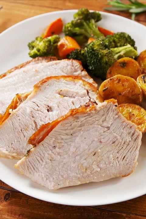 Dish, Food, Cuisine, Ingredient, Pork loin, Meat, Produce, Staple food, Recipe, Galantine,