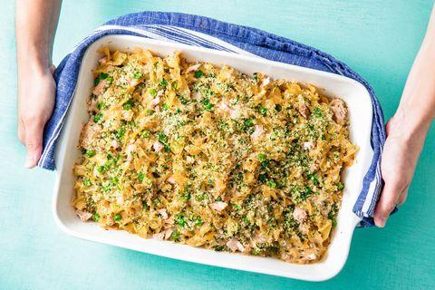 Tuna Noodle Casserole horizontal