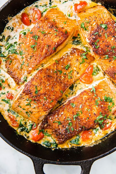 Tuscan Butter Salmon - Delish.com