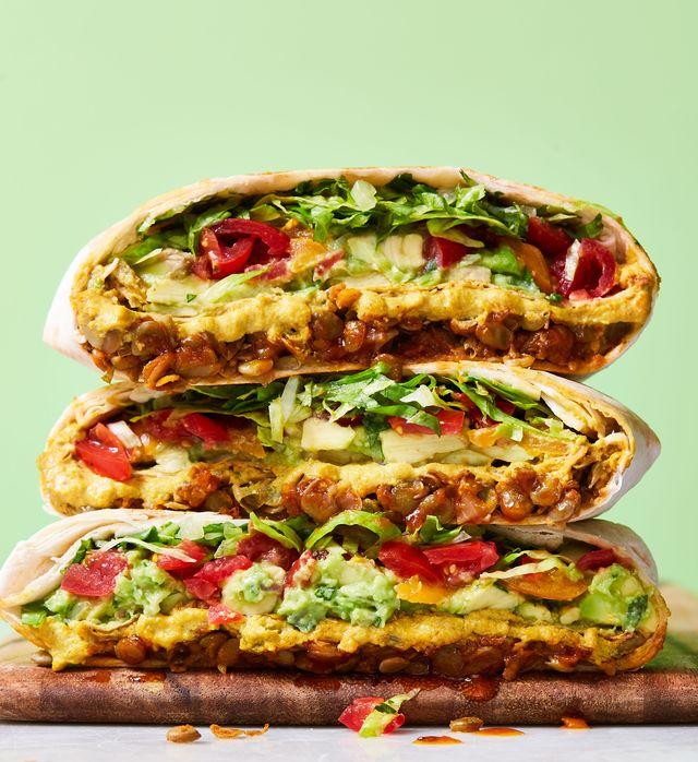 vegan taco bell crunch wraps