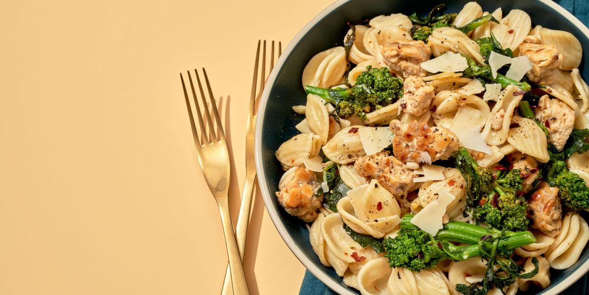 Tempeh & Broccoli Rabe Orecchiette