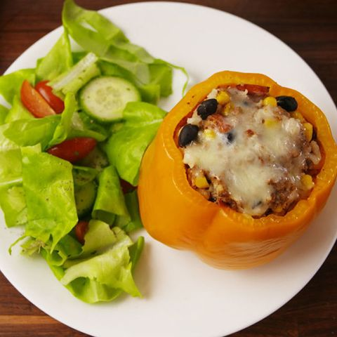 stuffed peppers slow cooker