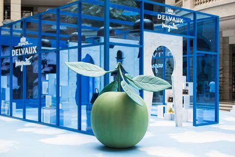 DELVAUX, Magritte Foundation, René Magritte, 包包, 奢侈品, 手拿包, 皮夾, 賈靜雯, 馬格利特系列