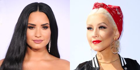 Christina Aguilera and Demi Lovato Just Released a Song Together, and It's Fire